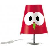 Lampe de table chouette -  eMy - Rouge - Luminaire d'intérieur Lucignolo