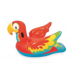 Perroquet à chevaucher - 203 x 132 cm
