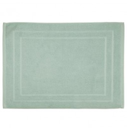 Tapis de bain en coton - 50 x 70 cm - Vert