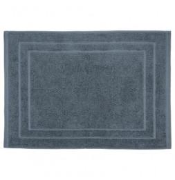 Tapis de bain en coton - 50 x 70 cm - Gris