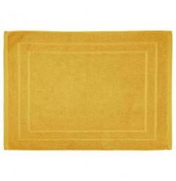 Tapis de bain en coton - 50 x 70 cm - Jaune