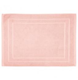 Tapis de bain en coton - 50 x 70 cm - Rose pastel