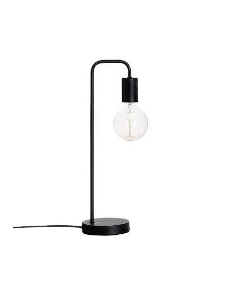 Lampe à poser en métal Keli - H 46 cm - Noir