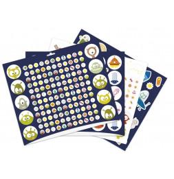 Maxi livre de stickers - Espace - 778 stickers - 29 x 34 cm