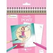 Carnet de cartes postales - Danseuses