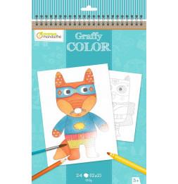 Carnet de coloriages - Animaux