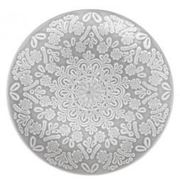 Assiette plate Hacienda - D 27 cm - Grès