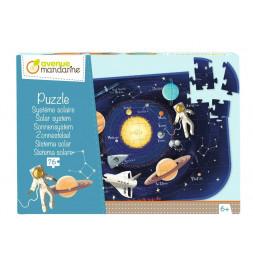 Puzzle éducatif - Grand format - Le système solaire