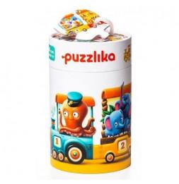 Puzzle Educatif - Train - Jeu enfants