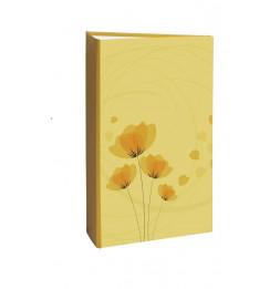 Album photo à pochettes 300 mémos Ellypse 2 - L 37 x l 22,5 cm - Jaune
