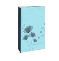 Album photo à pochettes 300 mémos Ellypse 2 - L 37 x l 22,5 cm - Bleu