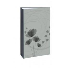 Album photo à pochettes 300 mémos Ellypse 2 - L 37 x l 22,5 cm - Gris