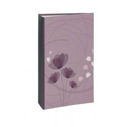 Album photo à pochettes 300 mémos Ellypse 2 - L 37 x l 22,5 cm - Violet