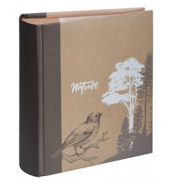 Album photo à pochettes 300 mémos Kraffty 2 - L 25 x l 21,5 cm - Marron