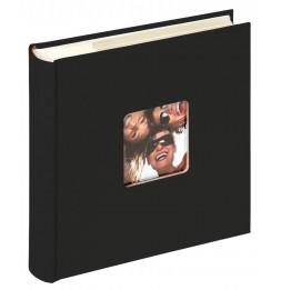 Album photo à pochettes 200 mémos Fun - L 24 x l 22 cm - Noir