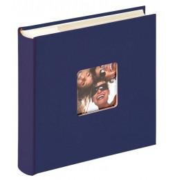 Album photo à pochettes 200 mémos Fun - L 24 x l 22 cm - Bleu
