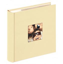 Album photo à pochettes 200 mémos Fun - L 24 x l 22 cm - Beige
