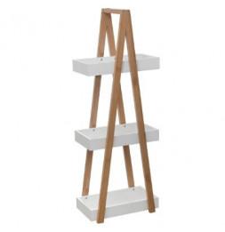 Etagère 3 niveaux - Lea - L 18 x P 30 x H 82 cm