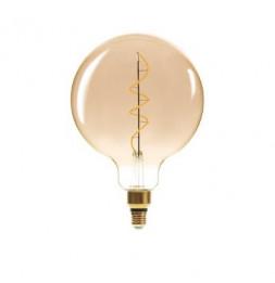 Ampoule torsade à LED - G 200 6W - Ambré