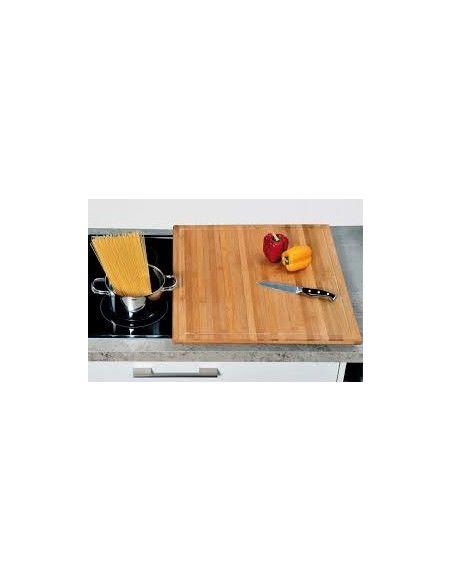 Planche à découper - 56 x 50 x 4 cm - Bambou