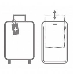 Etiquette de bagage - Gris