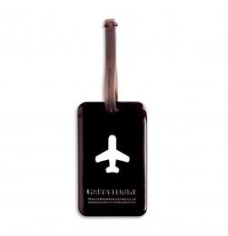Etiquette de bagage - Noir