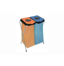 Eko-Thinks 2 supports sac poubelle - 63 x 90 cm - Couleur aléatoire
