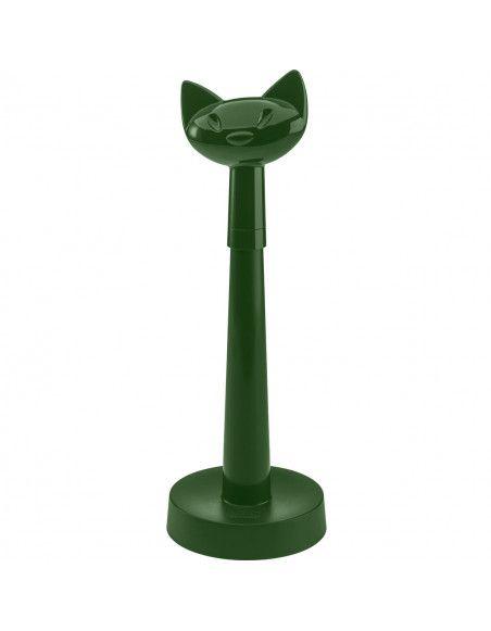 Porte-rouleau essuie-tout Chat - Vert foncé