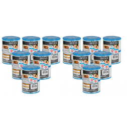 Cartouches pour SPA - Intex - 12 lot de 2 cartouches de filtration soit 24 cartouches