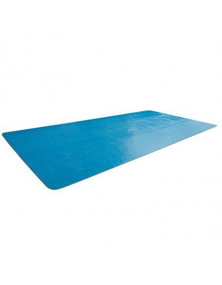 Bâche à bulles rectangulaire pour piscine - L 9,60 x l 4,66 m - Intex