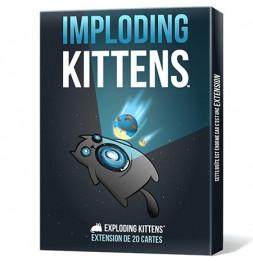 Exploding Kittens- Imploding Kittens - Jeu famille