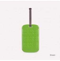 Etiquette de bagage customisable - Vert