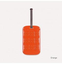 Etiquette de bagage customisable - Orange