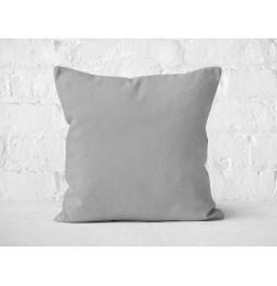 Coussin 40 x 40 cm en coton - PANAMA - Gris
