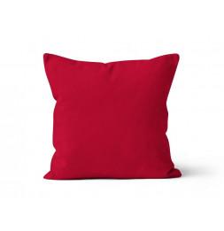 Coussin 40 x 40 cm en coton - PANAMA - Rouge