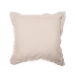 Coussin 60 x 60 cm en coton - PANAMA - Beige