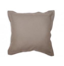 Coussin 60 x 60 cm en coton - PANAMA - Gris