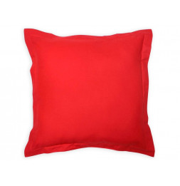 Coussin 60 x 60 cm en coton - PANAMA - Rouge