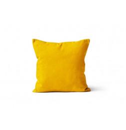 Coussin déhoussable 40 x 40 cm - ALIX - Jaune