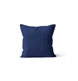 Coussin déhoussable 40 x 40 cm - ALIX - Bleu