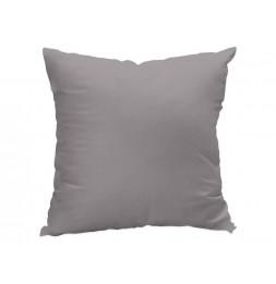 Coussin déhoussable 60 x 60 cm - ALIX - Gris