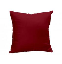 Coussin déhoussable 60 x 60 cm - ALIX - Rouge