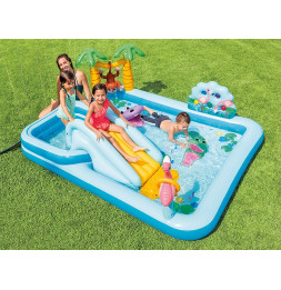 Aire de jeu Jungle - L 2,57 x l 2,16 x H 0,84 m - Intex
