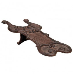 Tire botte en fonte - 37 x 17,4 x 9,8 cm - Marron