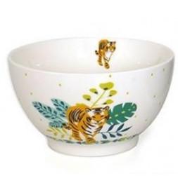 Bol Tigre en porcelaine - 480 ml - Blanc