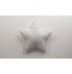 Applique étoile - Gris