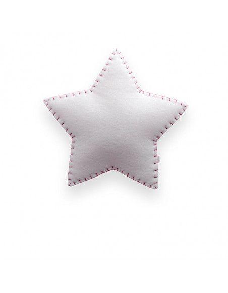 Applique étoile - Rose