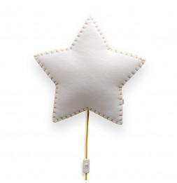 Applique étoile - Jaune