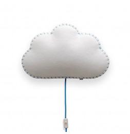 Applique nuage - Bleu