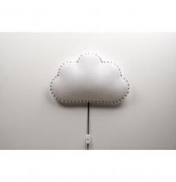 Applique nuage - Gris